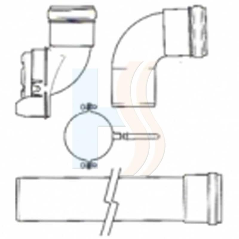 Glow-worm Boiler Plume Management Kit (Black)