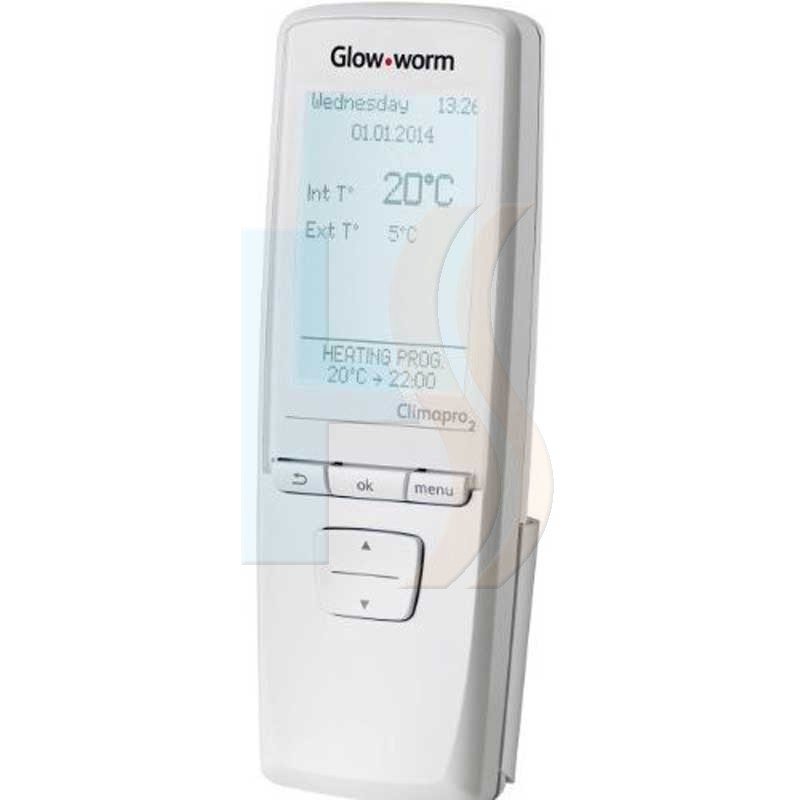 Glow-worm Climapro2 RF Hand Held Programmable Wireless Room Stat