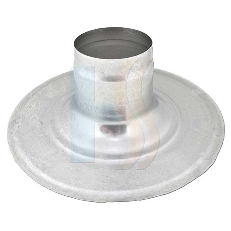 Heatline 100mm flat roof penetration collar