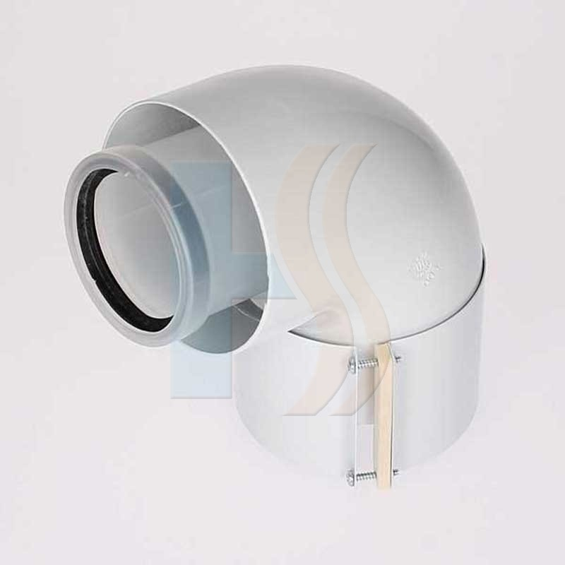 Heatline 60/100 90 degree flue bend