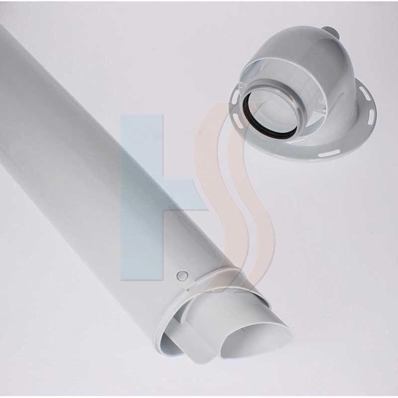 Heatline 60/100 horizontal flue kit
