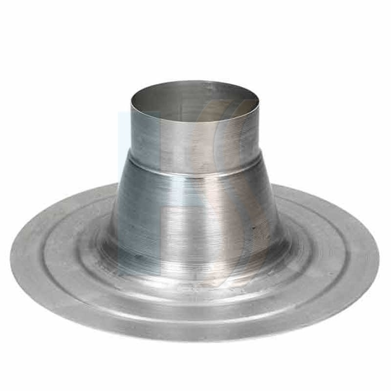 Ideal weather collar for flat roof
