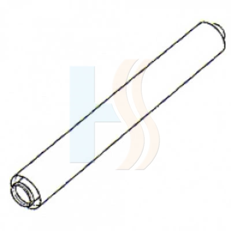 Potterton high output 1 meter extension (125mm)