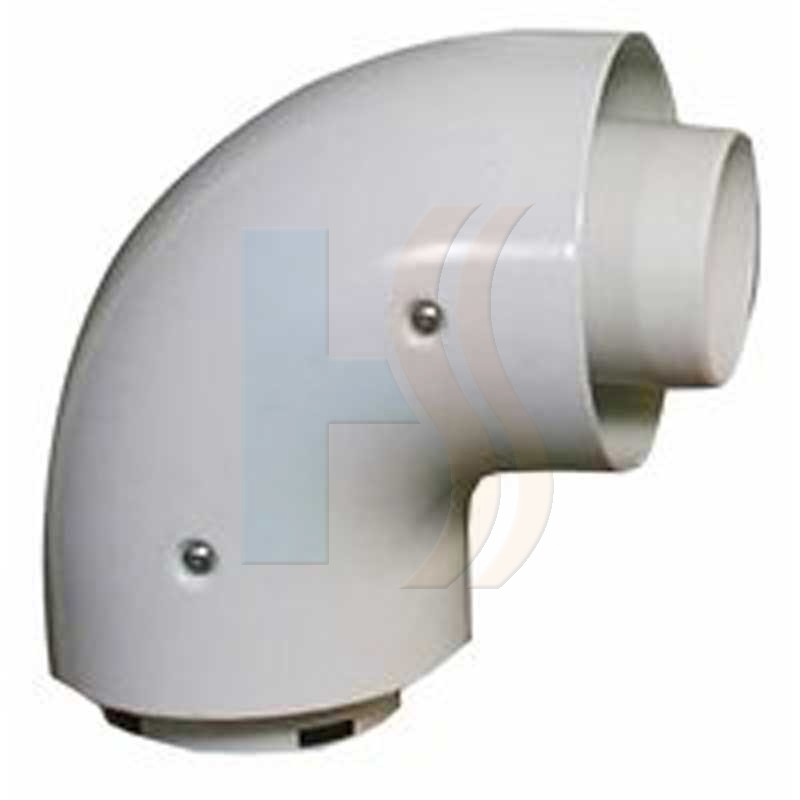 Vokera he 90 degree flue bend