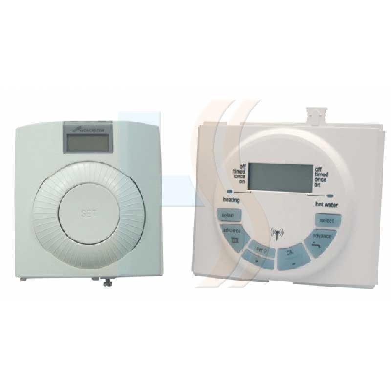 Worcester Digital RF Thermostat (2 CH. Prog)(MK II) DT20RF