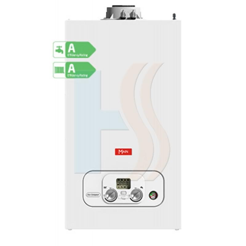 Main Eco Compact 25KW Condensing Combi Boiler & Flue ERP **** 5 Year Warranty ****