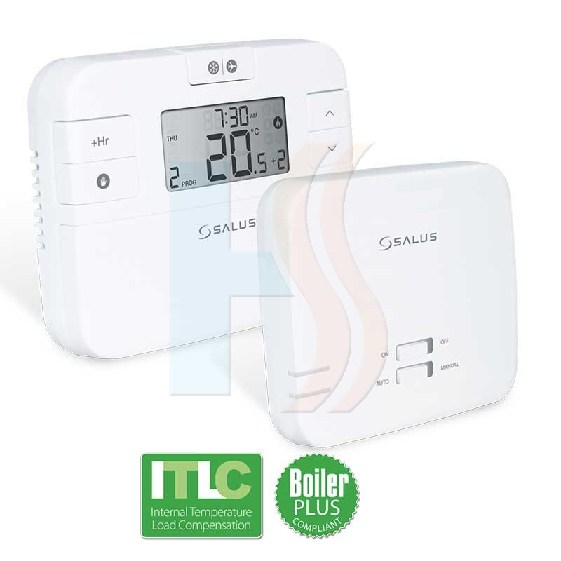 Salus RT510+ Wireless Programmable Room Thermostat Boiler Plus
