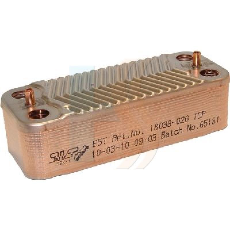 Alpha 1.022222 DHW Heat Exchanger
