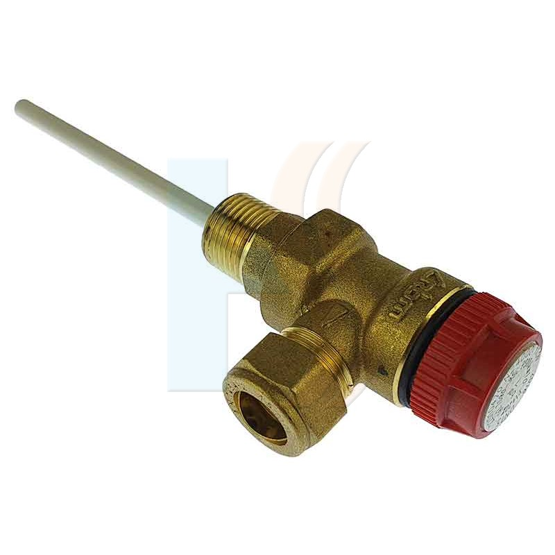 Ariston / Chaffoteaux 969046 Temperature + Pressure Relief Valve