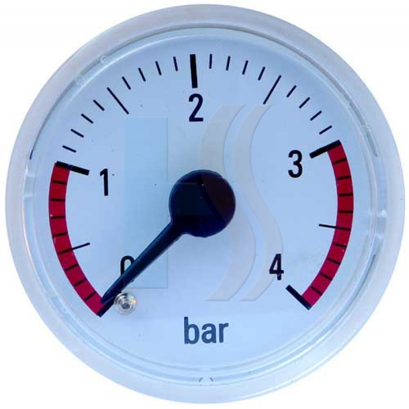 Heatline D004090673 Pressure Gauge - White