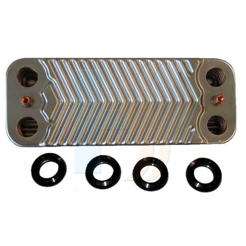 Viessmann 7828746 Plate Heat Exchanger 20 Plates DHW