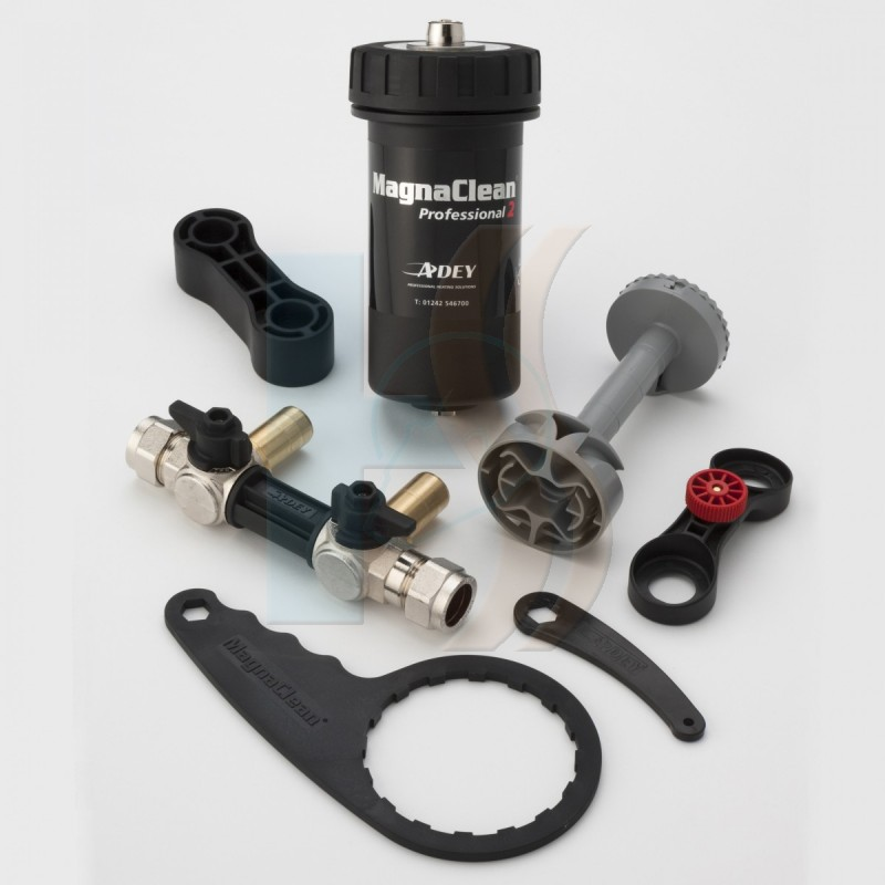 Magnaclean Professional 2 Filter (Adey Magnaclean: 22mm Black)