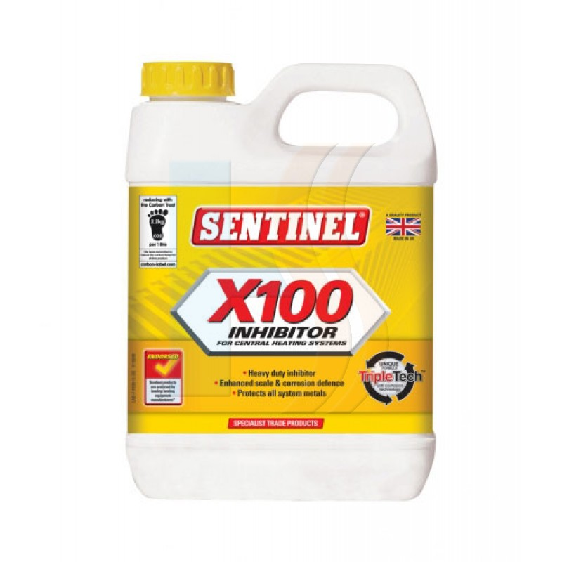 Sentinel X100 Inhibitor 1 Litre - Sentinel Central Heating Water Treatment